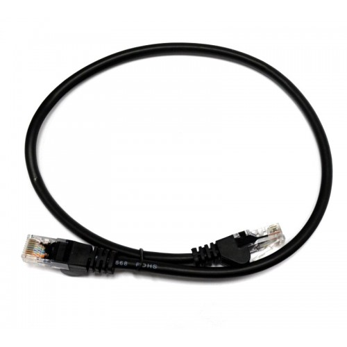 Патч-корд U/UTP, 3 метра, cat 5e, черный, L&W ELECTRONICAL