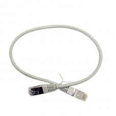 Патч-корд U/FTP, 0.5 метра, cat 6А, 30AWG Slim, L&W ELECTRONICAL