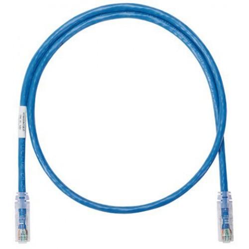 Патч-корд UTP, 3 м, кат. 6, синий, Panduit NetKey