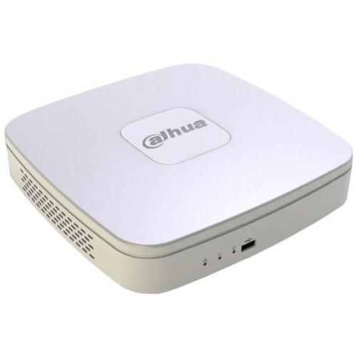 DH-NVR4116-4KS2 Dahua 16-и канальный Smart 1U 4K сетевой видеорегистратор