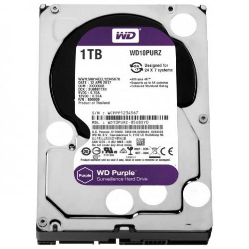 HDD SATA 1TB WD Purple (1TB)
