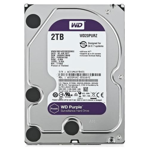WD20PURZ WD Purple 2TB Western Digital жесткий диск для видеонаблюдения