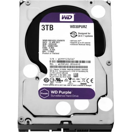 WD30PURZ WD Purple 3TB Western Digital жесткий диск для видеонаблюдения