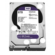 WD60PURZ WD Purple 6TB Western Digital жесткий диск для видеонаблюдения