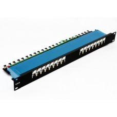 "Патч-панель 19"" 16xRJ-45 FTP, cat 6, dual type, EPNew"