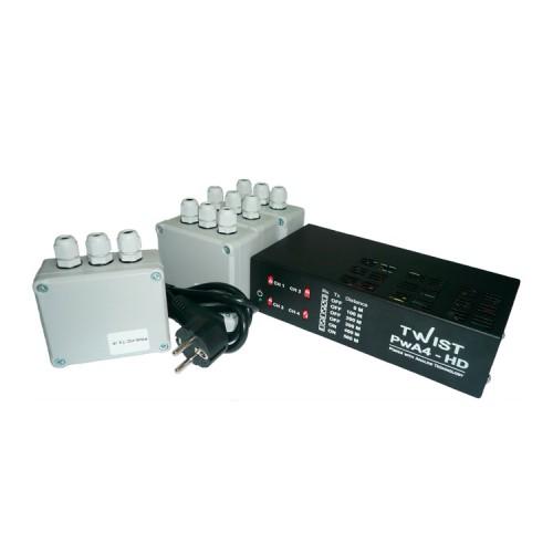PwA-4-HD Twist комплект активных усилителей